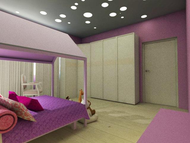 Illuminazione camera bambini